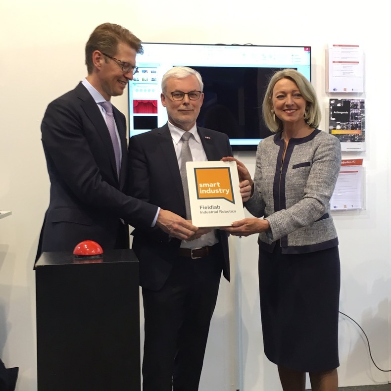 Opening Fieldlab Hannover Messe